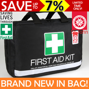 NEW St John Ambulance First Aid Kit LARGE Travel Leisure Work Bag COMPLIANT
