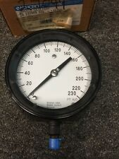 "Ashcroft 230 Psi 4 1/2"" Face 0-230ft/H2O Pressure Gauge"