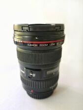 17-40mm F/4.0 Canon EF USM Lens-L Nero
