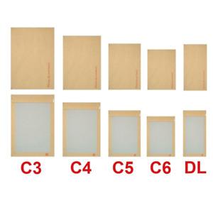 Card Board Back Backed Envelope Hard Do Not Bend Envelopes Brown Pack of 250
