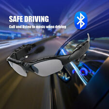 Bluetooth Polarized Glasses Stereo Talk Music MP3 Headset Sunglasses For Driving