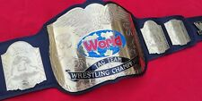 Tagteam Wwf Championship Replica Belt In 4Mm Brass Plate With Real Leather Strap