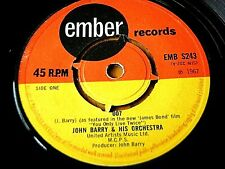 "JOHN BARRY & HIS ORCHESTRA - 007  7"" VINYL"