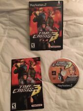 Time Crisis 3 (Sony PlayStation 2, PS2 2003) Complete, no gun