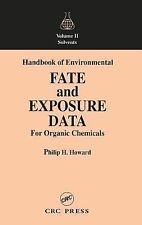 Handbook of Environmental Fate and Exposure Data for Organic Chemicals, Volume..