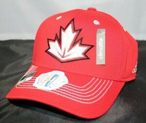 adidas World Cup of Hockey 2016 Team Canada Hockey Fitted Hat Cap - L/XL - NWT