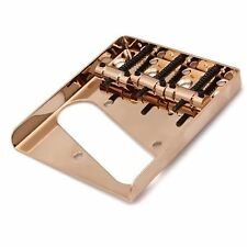 NEW Bridge TELECASTER PU single 3 saddles gold pour guitare Fender TELE