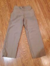 Vintage khaki USMC Marines men trousers Morganstern & Co. 1956