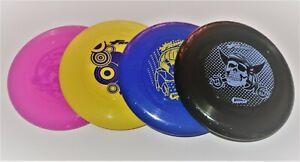 Wham-O Frisbee Discs 51132 Fun Flyers 70g Pink/Yellow/Blue/Black 23cm Brand NEW