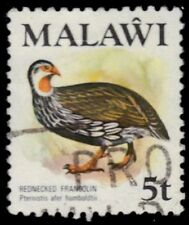 """MALAWI 236 (SG476) - Red-necked Francolin """"Pternistis humboldtii"""" (pa79814)"""
