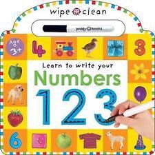 Wipe Clean - Numbers by Priddy Books (Hardback, 2004)