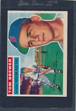 1956 Topps GB #034 Tom Brewer Red Sox VG/EX 56T34-122015-1