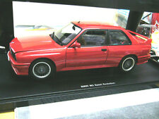Bmw m3 3er serie e30 Sport Evolution red rojo 1990 Autoart AA New nuevo 1:18