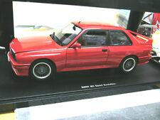BMW M3 3er Reihe E30 Sport Evolution red rot 1990 AUTOart AA NEW NEU 1:18