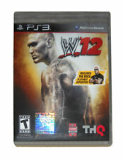 WWE 12 PS3 Playstation 3 Game Brand New Factory Sealed READ