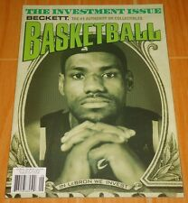 LEBRON JAMES BECKETT BASKETBALL #191 JUNE '06 COLLECTIBLE MAGAZINE