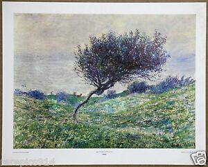 Claude Monet Sea Coast at Trouville 1st Limited Edition Original 1960 Lithograph