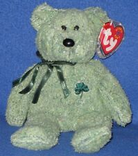 TY SHAMROCK the BEAR BEANIE BABY -  MINT with MINT TAG