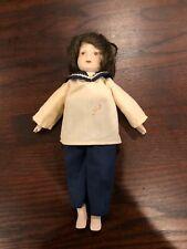 Beautiful Antique/Vintage Porcelain/China Sailor Doll