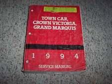 1994 Lincoln Town Car Shop Service Repair Manual Signature Cartier Executive V8