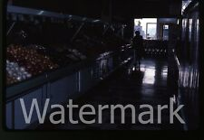 1980s 35mm photo slide Grocery store interior #2