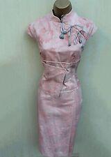 Karen Millen Pink Floral Jacquard Geisha Oriental Style races wedding dress 12
