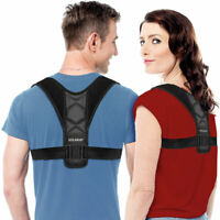 Back Posture Support Corrector Adjustable Brace Therapy Men Women - Solaray