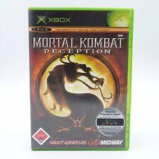 Mortal Kombat Deception Microsoft Xbox PAL Spiel Game Es steckt in jedem von uns