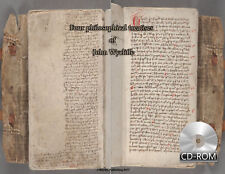 Four philosophical treatises of John Wycliffe - Czech Latin 1398 AD Manuscripts