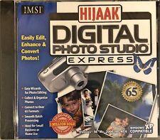 Hijaak Digital Photo Studio Express Pc New XP Easily Edit Enhance Convert Photos