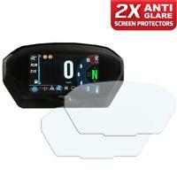 2 x TRIUMPH TIGER 800 1200 2018+ TFT Dashboard screen protector: Anti-Glare