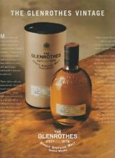 The Glenrothes Scotch Whisky 2000 PRINT AD Single Speyside Malt Rare