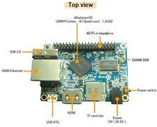 Orange Pi One H3 Quad-core Cortex-A7 ARM Single Board Linux Computer 5V 3A PSU