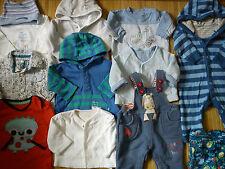 Énorme marques m&s GAP Mother Care 19x Bundle bébé garçon vêtements 0/3/6 mois et 1.8
