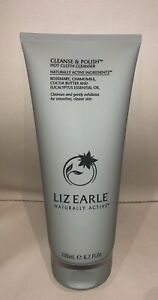 LIZ EARLE CLEANSE & POLISH 200ML TUBE BRAND NEW FRESH CLEAN STOCK