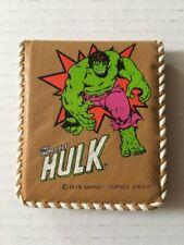 The Incredible Hulk Vintage Wallet 1978 New