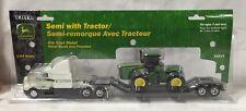 ERTL John Deere semi with a 9220 tractor 1/64 NIP