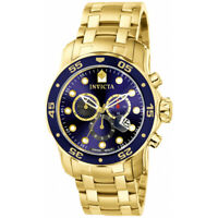 Invicta  Men's Pro Diver 0073  Stainless Steel Chronograph  Watch