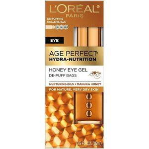 Skincare Age Perfect Hydra Nutrition honey Eye Gel 0.5 fl