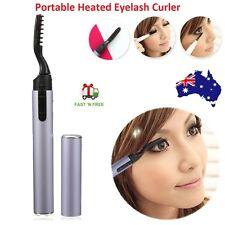 Portable Hot Electric Heated Eyelash Curler Eye Lashes Long Lasting Pen Style AU