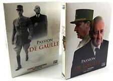 """Coffret 10 DVD Général De Gaulle """"Passion De Gaulle"""" Archives et Temoignages"""