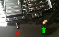 Ibanez MTM2 Mick Thompson Signature Bridge Mod Fix
