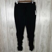1.STATE Ruched Jogger Pants Size XS Black