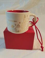 Starbucks Coffee Ornament Mug You Are Here California 2014 Mini Coffee Cup #36