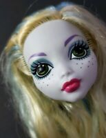MONSTER HIGH DOLL DANCE CLASS LAGOONA BLUE HEAD ONLY FOR REPLACEMENT OR OOAK