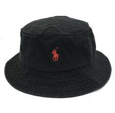 Polo ralph Lauren Bucket Hat Black Authentic US SELLER  (BRAND NEW IN PACKAGE)