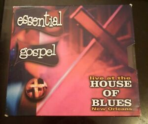 Essential Gospel Live At The House Of Blues New Orleans 2 CD Set