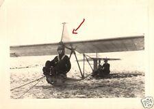 16487/ Originalfoto 7x10, Segelflieger Kirchberg I+Pilot, Flugschule Kirchberg