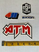 411 Video mag Axion shoes Kareem Campbell Atm Mark Gonzalez Skateboard Stickers