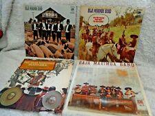 Julius Wechter & The Baja Marimba Band~4 LP's--INSTANT COLLECTION SALE!!!